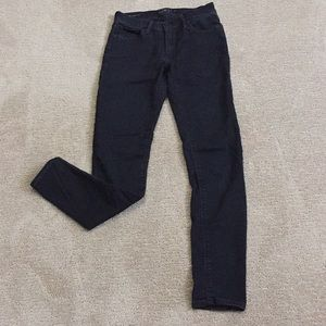Lucky Brand Brooke Legging Jean- black size 4